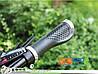 Эргономические велосипедные грипсы с замками (с белым), фото 4