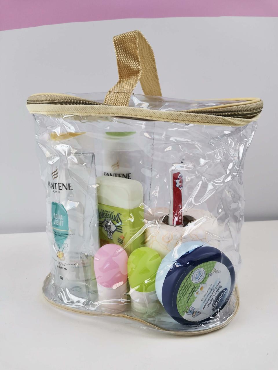 Прозора сумка-косметичка у пологовий будинок/медикаментів для/для іграшок