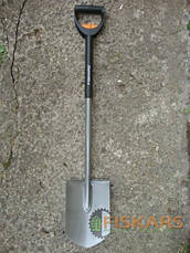 Телескопическая лопата Fiskars, штыковая (131300/1001567), фото 3