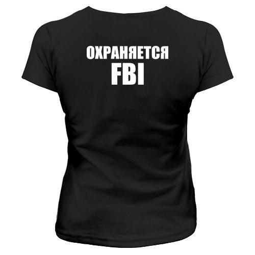 Парная футболка FBI / Охраняется FBI, фото 1