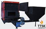 Стальной промышленный твердотопливный котел с автоматической подачей топлива RÖDA RK3G/S 160 186 квт, фото 4