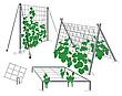 Сетка для огурцов и цветов пластиковая на метраж 1,8 м ширина, фото 2