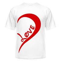 Парная футболка One love