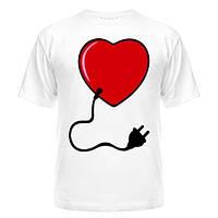 Парная футболка Вилка / Розетка