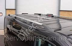 Рейлинги на крышу для OPEL VIVARO (Опель Виваро) алюминиевые Crown