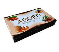 """Коробка кофет """"Ассорти"""" ( 4 вида конфет) из сухофруктов с грецким орехом в шоколаде, ТМ Максі"""