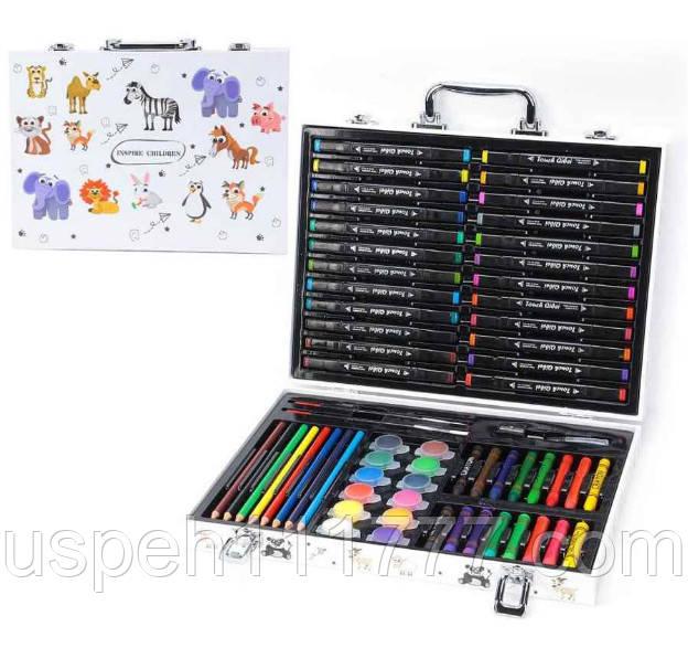 Подарочный набор для детского творчества Inspire Children 65 предметов