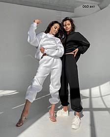 Женский спортивный теплый костюм (размеры: XXL, XXXL)