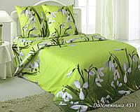 Ткань для постельного белья, бязь белорусская Подснежники