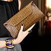 Високоякісний жіночий шкіряний клатч , модна сумка-клатч з волової шкіри, маленька сумка-месенджер
