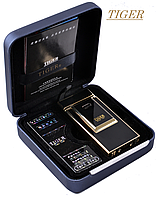 Электро-импульсная USB зажигалка Tiger №4336