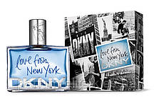 Мужская туалетная вода DKNY Love from New York for Men 48ml