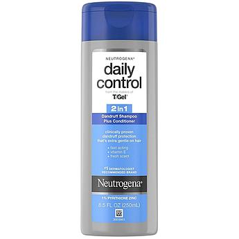 Шампунь-кондиционер от перхоти Neutrogena T/Gel Daily Control 2-in-1 Anti-Dandruff 250 мл