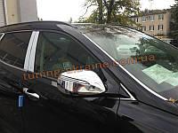 Хромированные накладки на зеркала Hyundai Santa Fe IX45