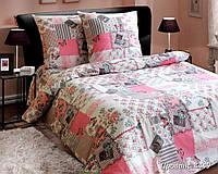 Ткань для постельного белья, бязь белорусская Прованс
