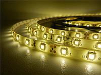 Светодиодная лента 3528 (2835) 60 LED/m Тёплый белый Герметичная