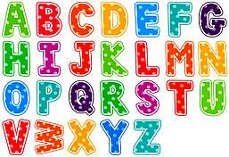 Английские магнитные буквы, 26шт