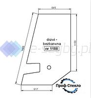 Стекло экскаватор Zeppelin ZM 15 - Дверь