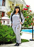 Спортивный женский костюм больших размеров