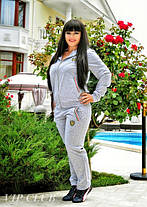 Спортивный женский костюм больших размеров, фото 3