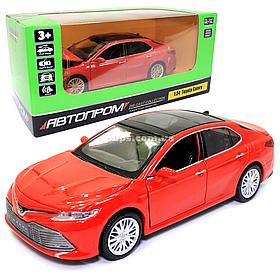 Игрушечная машинка металлическая «Toyota Camry» Автопром Тойота Камри, красный, 14*5*5 см, (68459)