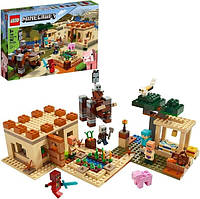 Lego Minecraft Конструктор Патруль разбойников 21160 The Illager Raid
