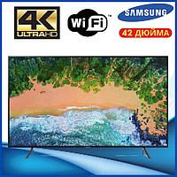 Телевизор Samsung экран 42 дюйма, Телевизор Самсунг 42 дюйма 4к, SMART TV, ANDROID 9,1