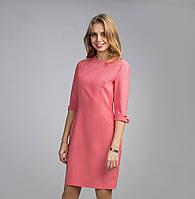 Однотонное женское платье из новой коллекции
