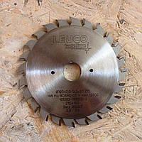 Пила предварительной подрезки ламината для форматных станков составная Leuco Topline 120*20 мм 18930