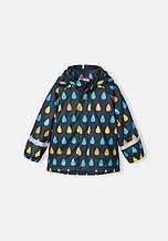 Куртка-дождевик демисезонная для мальчика Reima KOSKI 521507-7332. Размеры 86 - 128.
