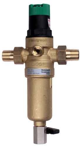 Фильтр для горячей воды самопромывной с редуктором Honeywell FK06-1AAM - Акватех, ФЛП  Питлюк  Р. Я. в Днепре