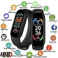 Фитнес браслет Smart Mi Band M6 с измерением кислорода и давления. Смарт часы. Фитнес трекер Xiaomi Реплика