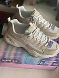 Бежеві кросівки skechers d lites, оригінал, фото 5