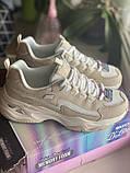Бежевые кроссовки skechers d'lites, оригинал, фото 7