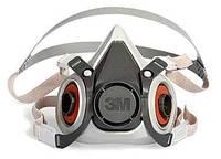 Полумаска 3М 6200 (средний размер) / маска зм