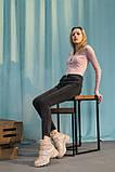 Женские ботинки кожаные весна/осень бежевые, фото 2