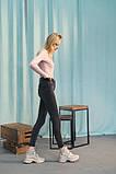 Женские ботинки кожаные весна/осень бежевые, фото 4