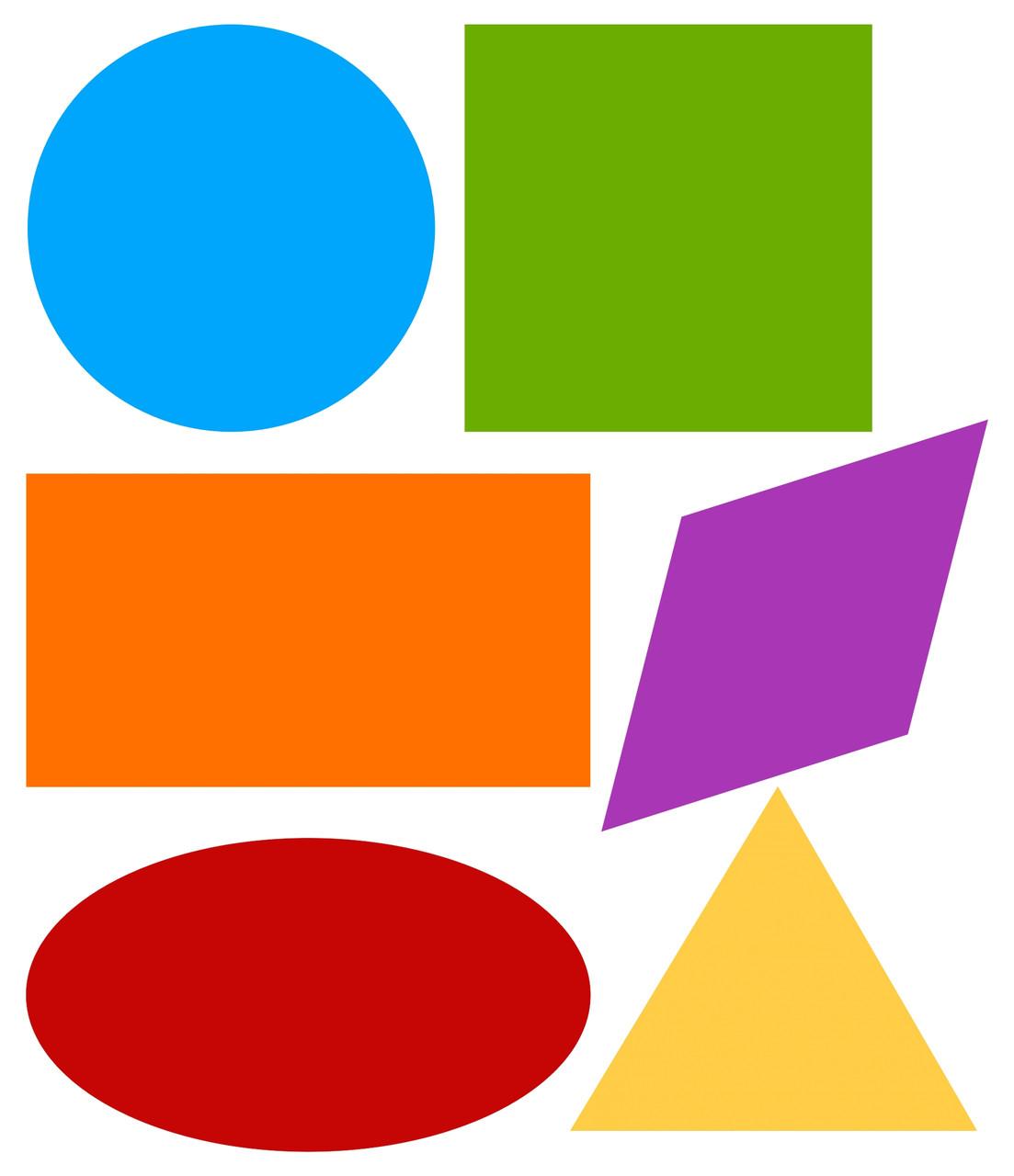 Картинка детские геометрические фигуры