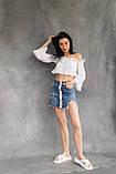 Женские шлепанцы кожаные летние белые, фото 6