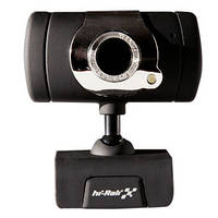 Веб-камера Hi-Rali HI-CA009 (с микрофоном)