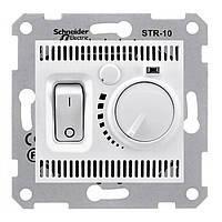 Терморегулятор для тёплого пола белый Sedna Schneider Electric SDN6000321