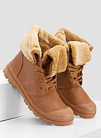Ботинки-сникерсы женские зимние теплые