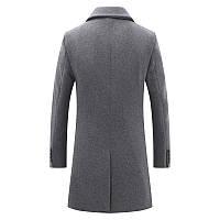 Чоловіче вовняне пальто. Модель DM-343, фото 2
