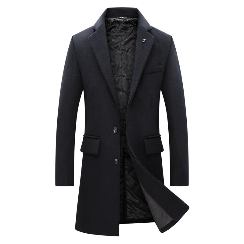 Чоловіче вовняне пальто. Модель DM-343