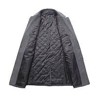 Чоловіче вовняне пальто. Модель DM-343, фото 3