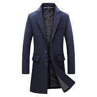 Чоловіче вовняне пальто. Модель DM-343, фото 4