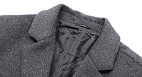 Чоловіче вовняне пальто. Модель DM-343, фото 7