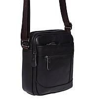 Мужская кожаная сумка Borsa Leather K1223-brown, фото 3