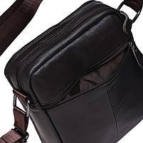 Мужская кожаная сумка Borsa Leather K1223-brown, фото 6