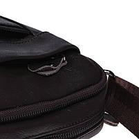 Мужская кожаная сумка Borsa Leather K1223-brown, фото 7